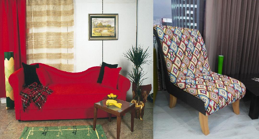 Geppetto sofa i fotelja
