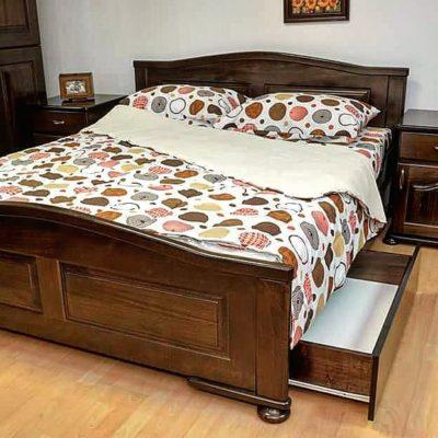 Drveni bračni kreveti